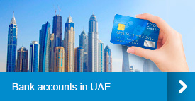 Bank accounts in UAE