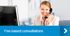 Fee-based consultations